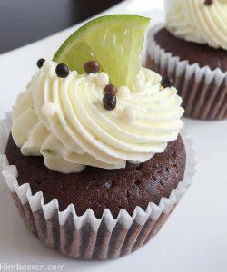 limetten cupcakes