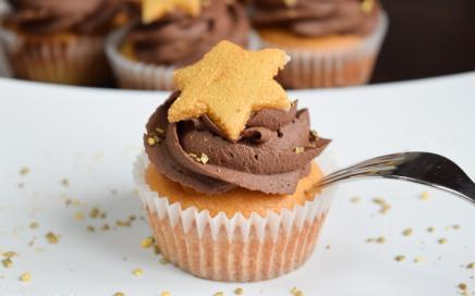 schoko marzipan muffins