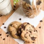 Knusprige Chocolate Chip Cookies mit weichem Kern