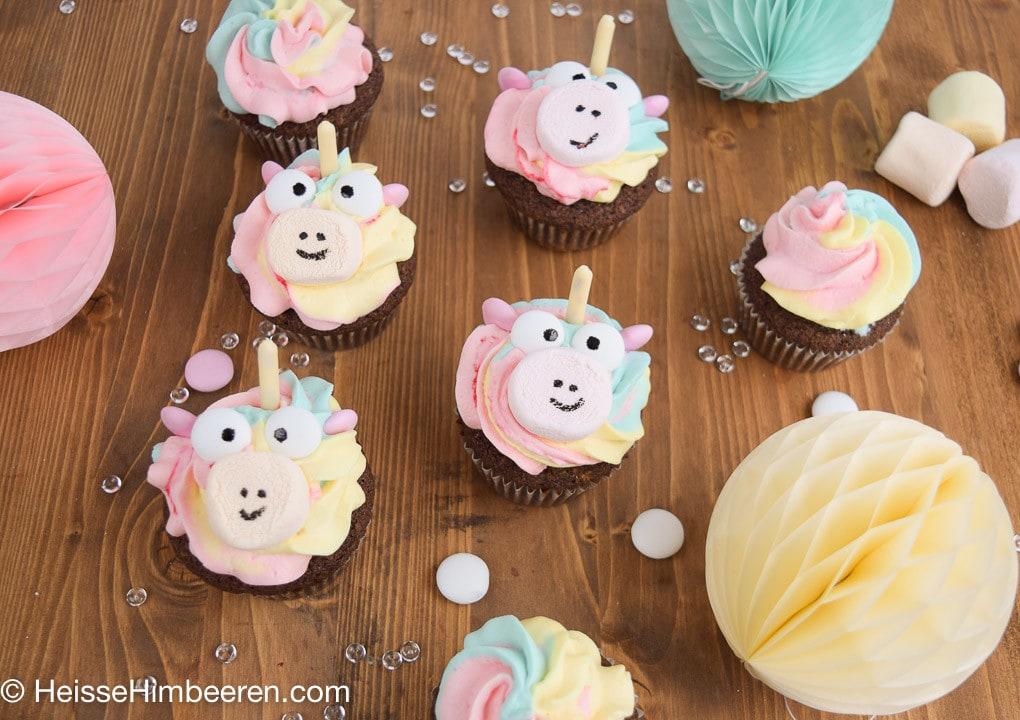 Einhorn_Cupcakes-8