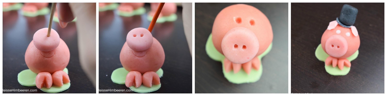 Glücksschweinchen Collage 2
