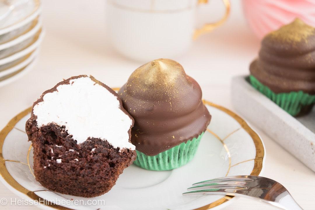 Schokokuss Cupcakes-11