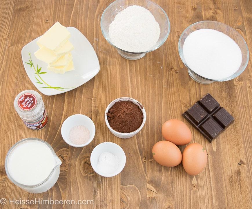 Schokokuss Cupcakes-Rezept