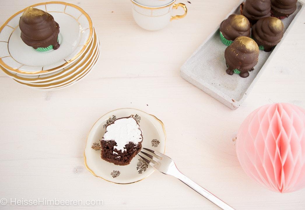 Schokokuss Cupcakes-8