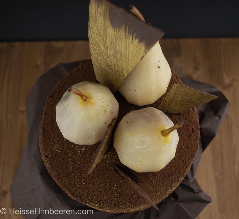Weißwein-Birnen-Schoko-Torte-6