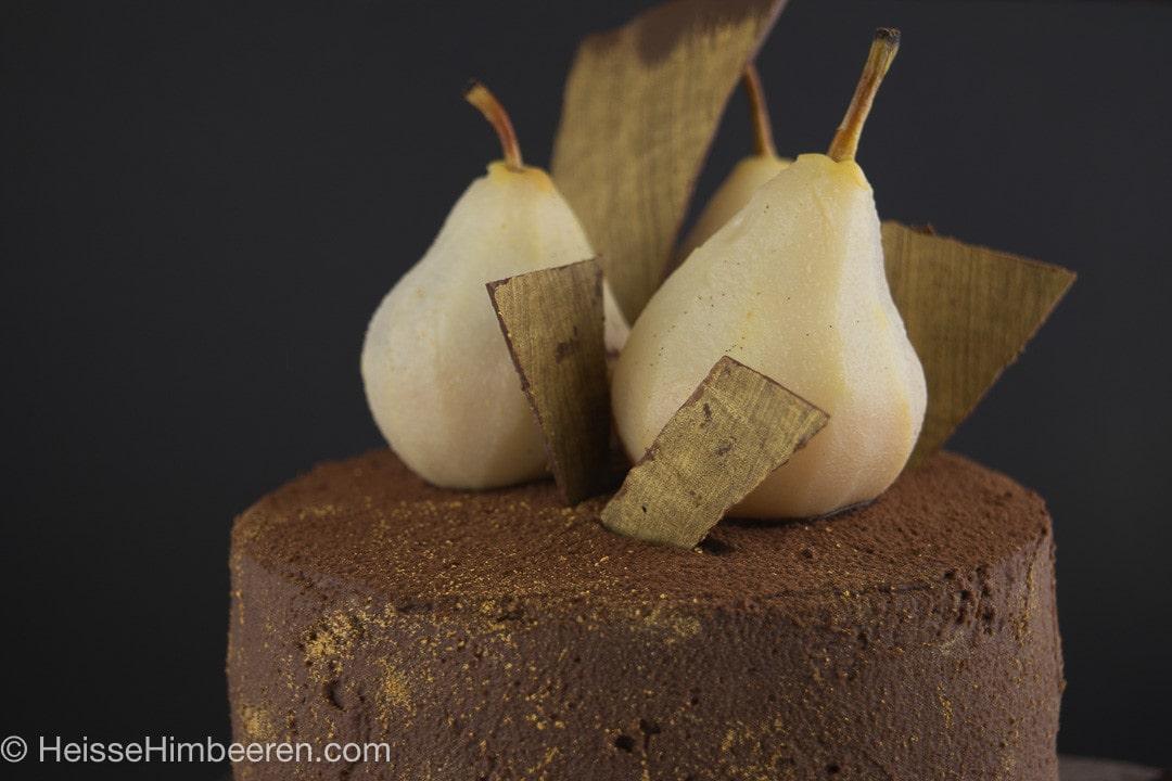 Weißwein-Birnen-Schoko-Torte-9