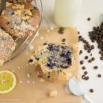 Blueberry Muffins mit knusprigen Streuseln