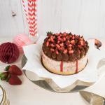 Erdbeer Tiramisu Cheesecake