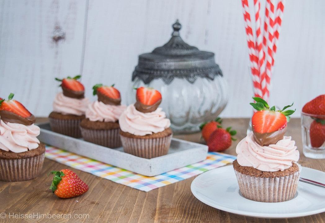 Erdbeer_Nougat_Cupcakes-7