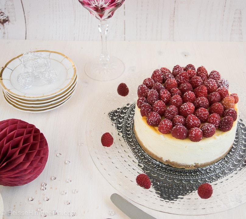 Cheesecake Himbeeren
