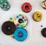 Verrückte Schokoladen Donuts