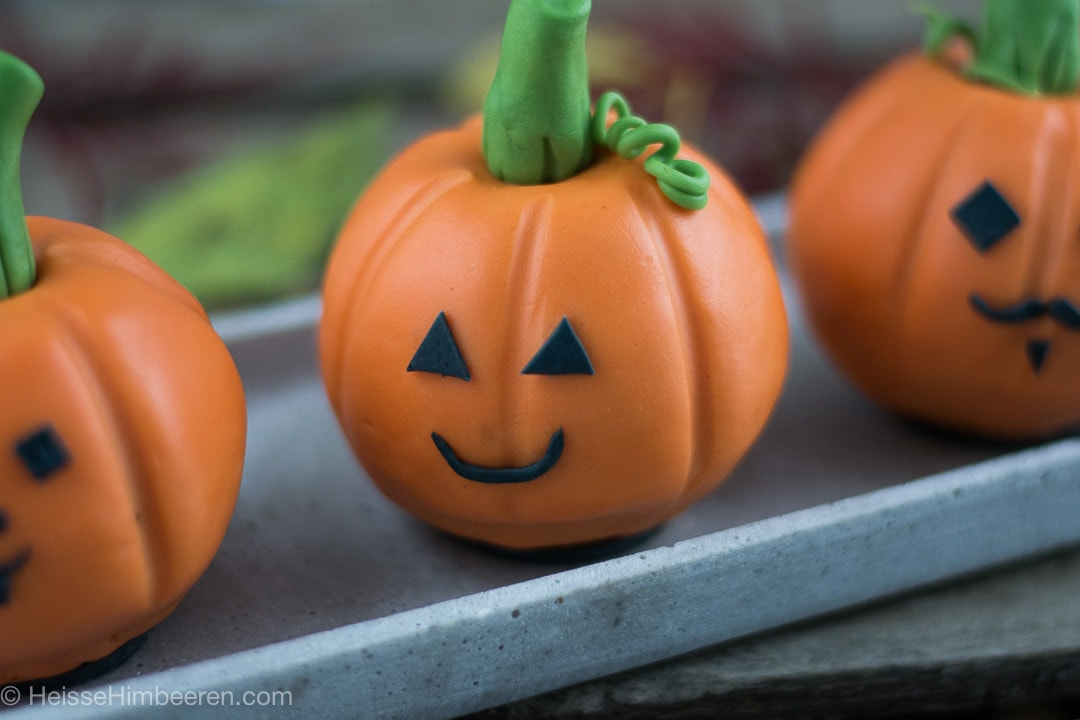 Frecher Halloween Kurbis Heisse Himbeeren