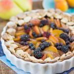 Herbstliche Früchte Tarte – leicht und lecker mit ganz viel Obst