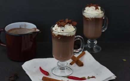 heiße schokolade mit gewürzen