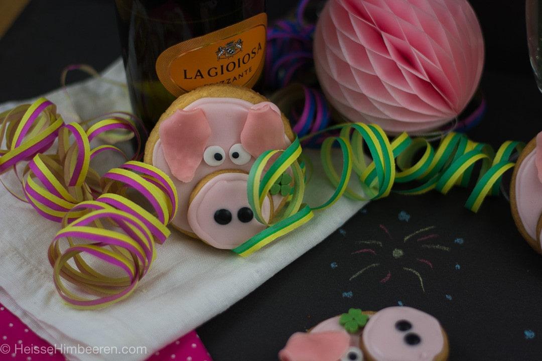 Glücksschweinchen Kekse