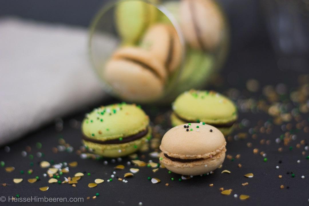 St. Patricks Day Macarons