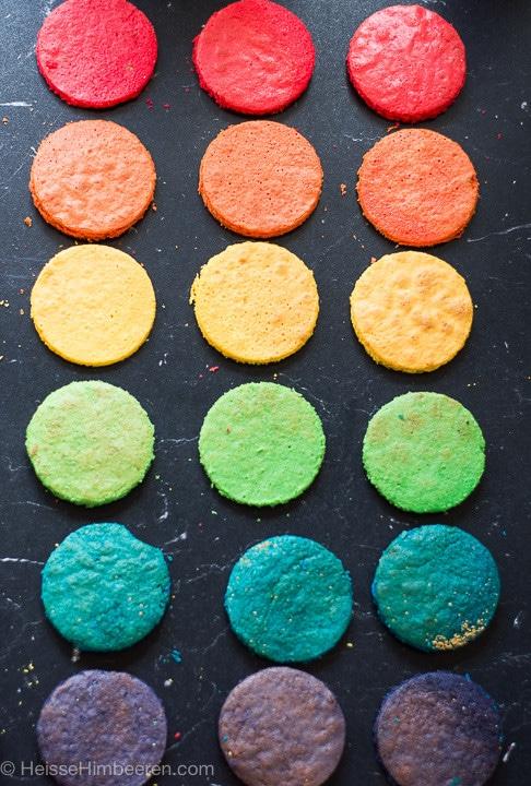regenbogenkuchen zutaten