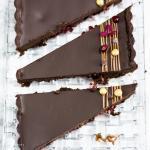 Schokoladentarte mit Granatapfel – eine Schokotarte mit dem gewissen Etwas