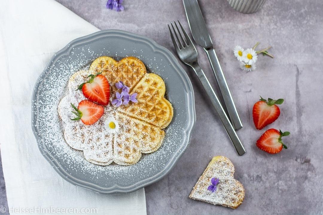 Waffeln – Grundrezept für den absoluten Frühstücksklassiker