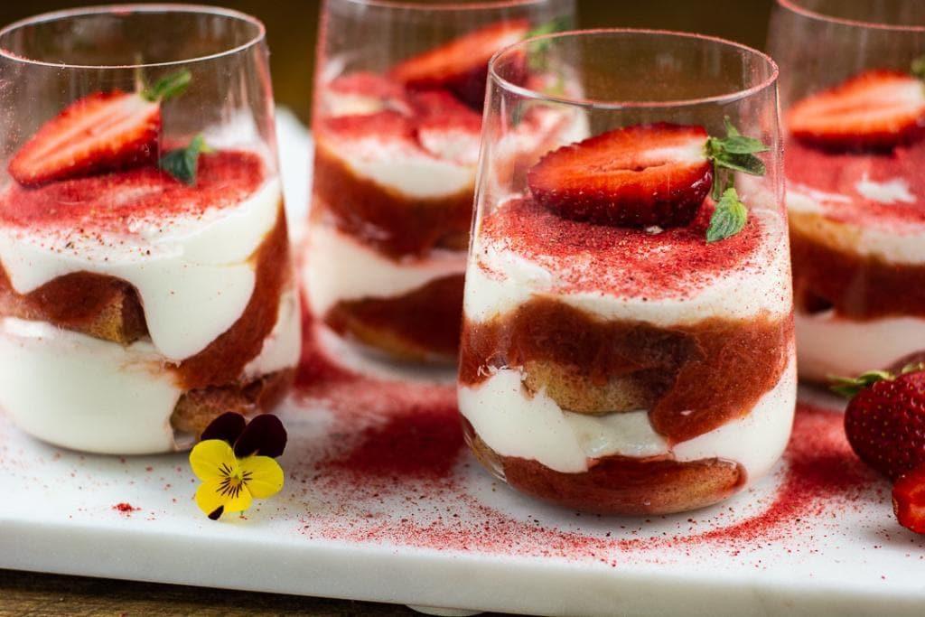erdbeer tiramisu ohne ei
