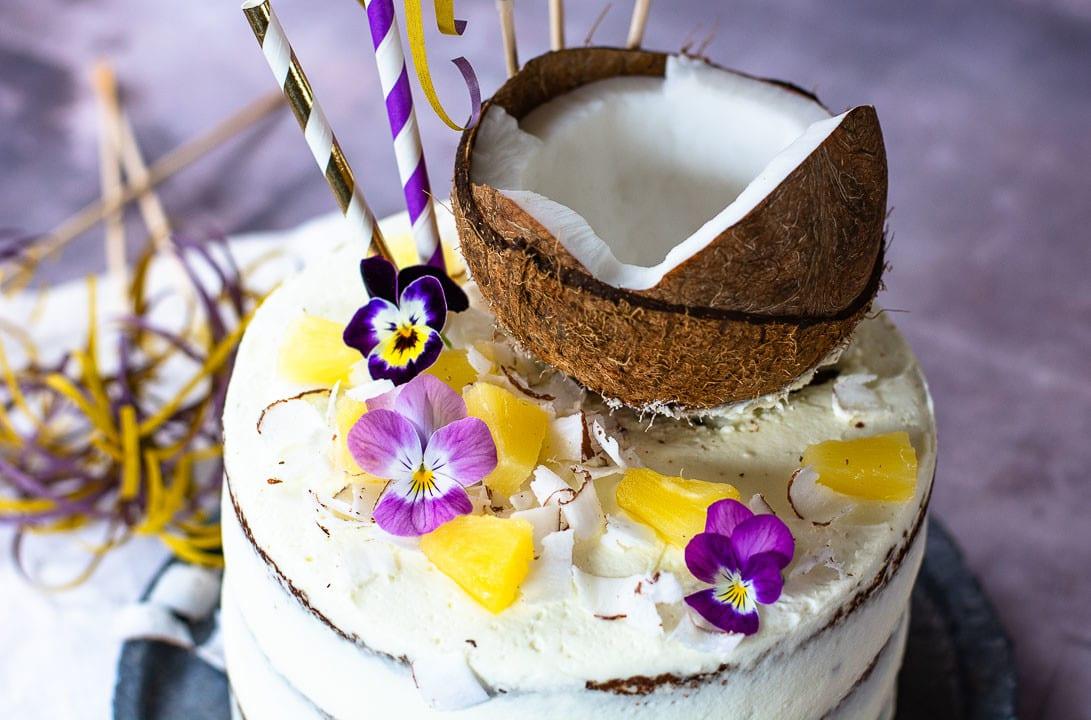 Pina Colada Torte