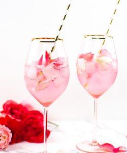 rose cocktail rezept