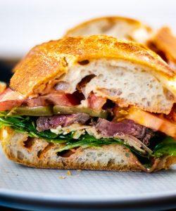 steak sandwich rezept