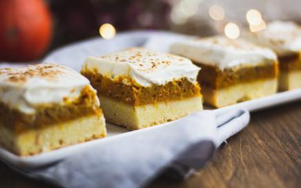 pumpkin spice kuchen