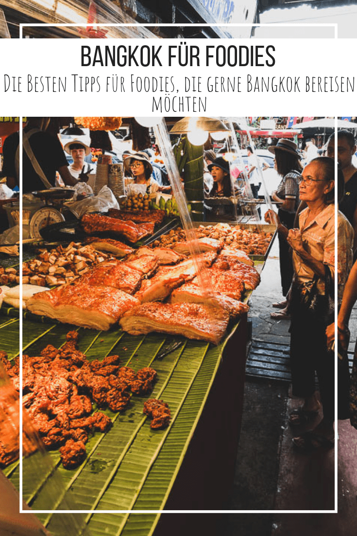 Bangkok, die Hauptstadt Thailands ist Metropole, geheime Foodie Hauptstadt und Sehnsuchtsort. Wie du einen kurzen Aufenthalt in dieser Stadt als echter Foodie am Besten nutzt verrate ich Dir heute. #reise #bangkok #thailand #essen #streetfood