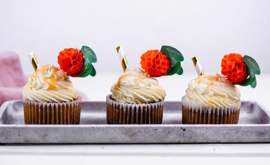 Bellini Pfirsich Cupcakes