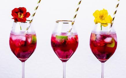 Hibiskus Rum Cocktail