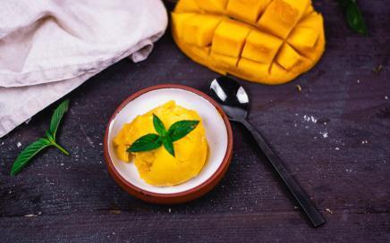 mango sorbet eismaschine