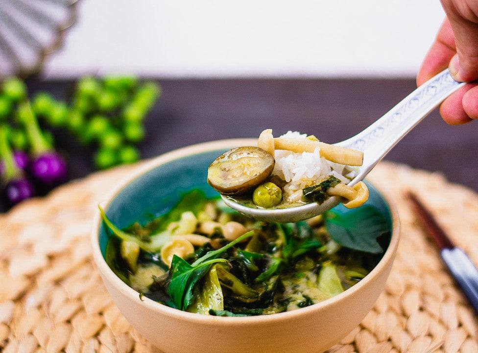 grünes curry