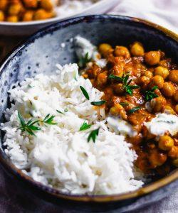 schnelles kichererbsen curry