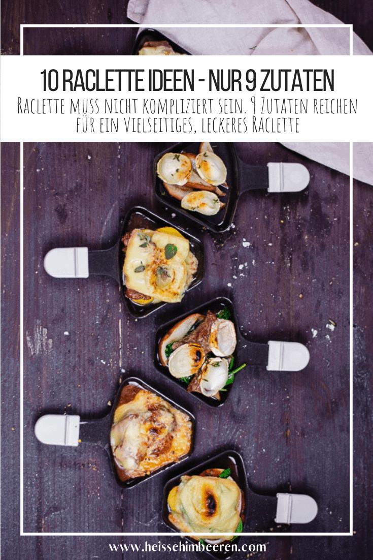 Raclette Grafik für Pinterest