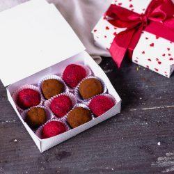 Valentinstags Rezept Pralinen in der Schachtel