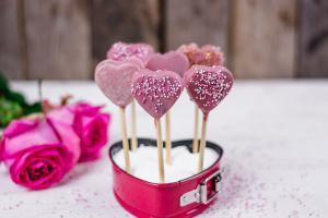 Valentinstag Cakepops