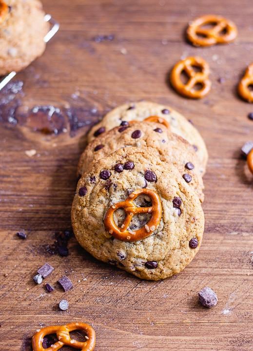 Chocolate Chip Cookies Closeup