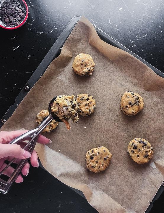 Cookies portionieren