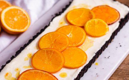 Orangen Mousse Tarte