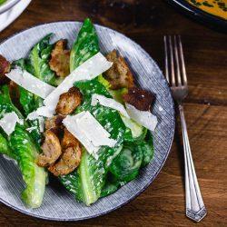 Caesar Salad einfach zubereiten