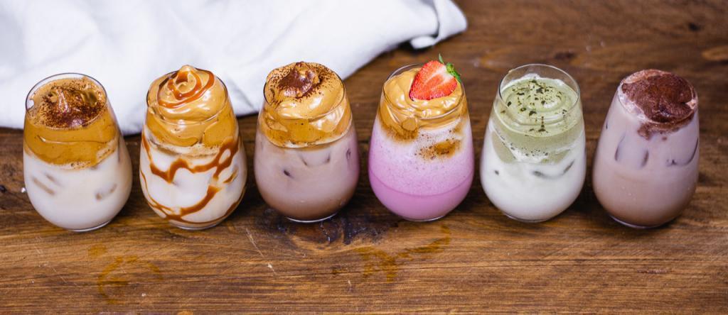 Dalgona Kaffee Varianten mit Rezepten