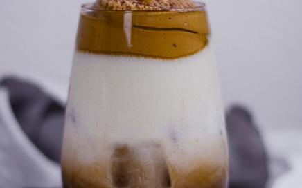 Dalgona Kaffee White Russian Cocktail
