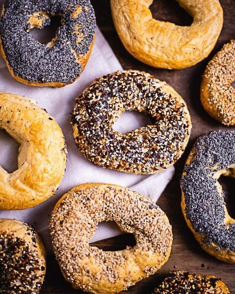 Bagels Rezept – die leckersten Bagels selbst backen