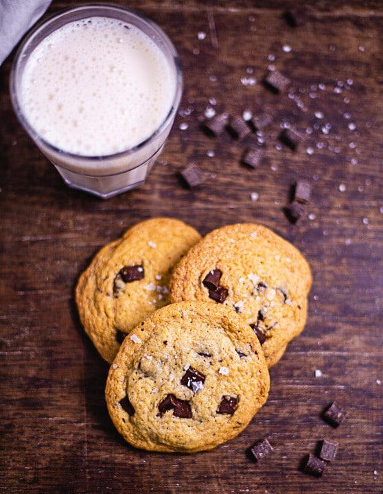 Cookies mit weichem Kern