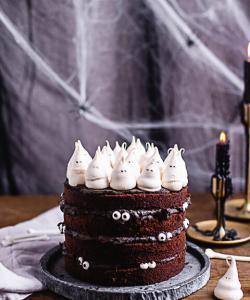 Halloween Torte - die Geister die ich rief